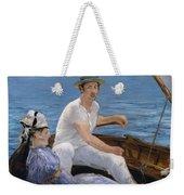 Boating Weekender Tote Bag