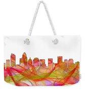 Charlotte Nc Skyline Skyline Weekender Tote Bag