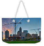 Charlotte North Carolina Early  Morning Sunrise Weekender Tote Bag