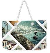 Collage Of Rio De Janeiro Weekender Tote Bag