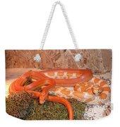 Corn Snake Weekender Tote Bag