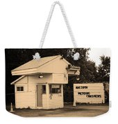 Drive-in Theater Weekender Tote Bag