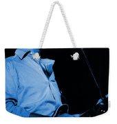 #7 Enhanced In Blue Weekender Tote Bag