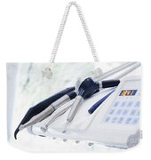 Equipment And Dental Instruments In Dentist's Office Weekender Tote Bag