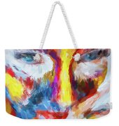 Face Paint Weekender Tote Bag