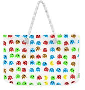 Game Monsters Seamless Generated Pattern Weekender Tote Bag