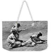 Jackie Robinson (1919-1972) Weekender Tote Bag by Granger