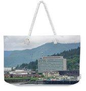 Juneau Alaska Usa Northern Town And Scenery Weekender Tote Bag