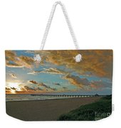 7- Juno Beach Pier Weekender Tote Bag