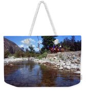 Lower Sisquoc River - San Rafael Wilderness Weekender Tote Bag