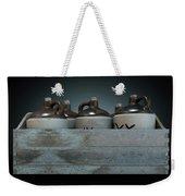 Moonshine In Wooden Crate Weekender Tote Bag
