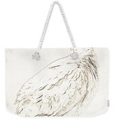 Mourning Dove, Animal Portrait Weekender Tote Bag