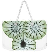 Opium Poppy Pods, X-ray Weekender Tote Bag