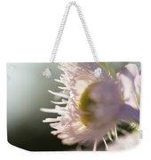 Pastel Purple Flowers Weekender Tote Bag