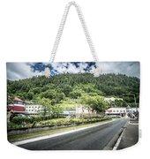 Port Of Juneau Alaska And Street Scenes Weekender Tote Bag
