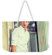 Portrait Of Young American Businessman. Weekender Tote Bag