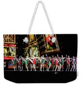 Radio City Rockettes New York City Weekender Tote Bag