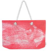 Red Wood Weekender Tote Bag