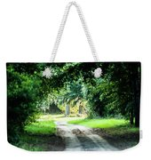 Scenes At Botany Bay Plantation Near Charleston South Carolina Weekender Tote Bag