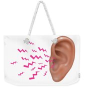 Sound Entering Human Outer Ear Weekender Tote Bag