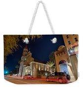 St Augustine City Street Scenes Atnight Weekender Tote Bag