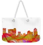 St Petersburg Florida Skyline Weekender Tote Bag