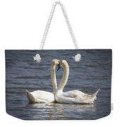 Swan -- Weekender Tote Bag