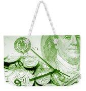 Time Is Money 16 Weekender Tote Bag