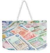Travel Money - World Economy Weekender Tote Bag