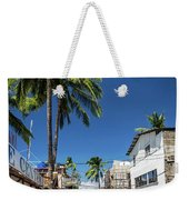 Tuk Tuk Trike Taxi Local Transport In Boracay Island Philippines Weekender Tote Bag