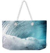 Underwater Wave Weekender Tote Bag