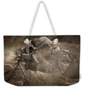 U.s. Army Ranger In Afghanistan Combat Weekender Tote Bag
