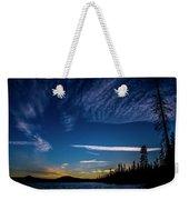 Waldo Lake Weekender Tote Bag
