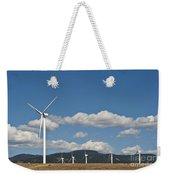 Wind Turbine Farm Weekender Tote Bag