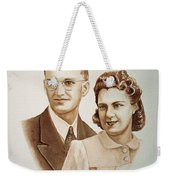 70 Years Together Weekender Tote Bag