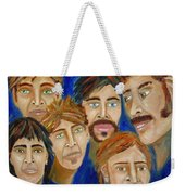 70s Band Reunion Weekender Tote Bag