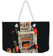 70s Mechanical Android Bot  Weekender Tote Bag