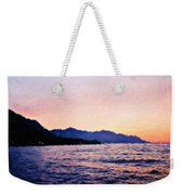 Nature Original Landscape Painting Weekender Tote Bag