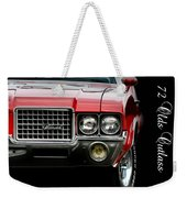 72 Olds Cutlass Weekender Tote Bag