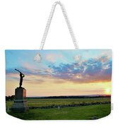 72nd Pennsylvania At The Angle Weekender Tote Bag