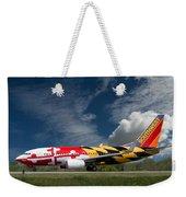 737 Maryland On Take-off Roll Weekender Tote Bag