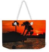 75 Island Sunset Weekender Tote Bag