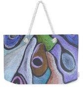 #758 Abstract Drawing Weekender Tote Bag
