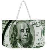 Time Is Money  Weekender Tote Bag