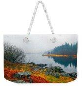 Landscape Drawing Nature Weekender Tote Bag