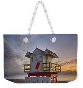 7898- Miami Beach Sunrise Weekender Tote Bag