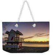 7901- Miami Beach Sunrise Weekender Tote Bag