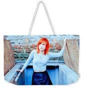 79361 Hayley Williams Paramore Women Singer Redhead Weekender Tote Bag
