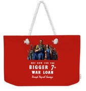 7th War Loan - Ww2 Weekender Tote Bag
