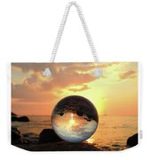 8-26-16--5927 Don't Drop The Crystal Ball, Crystal Ball Photography Weekender Tote Bag